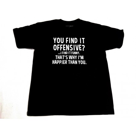 You find it offensive?