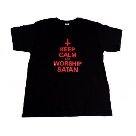 Keep calm and worship Satan