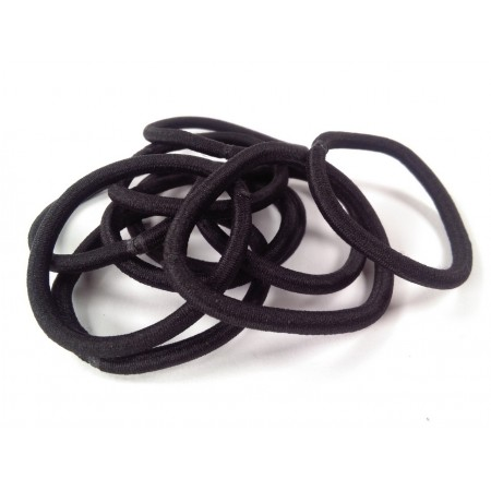 10 hair ties without metal joints 4mm