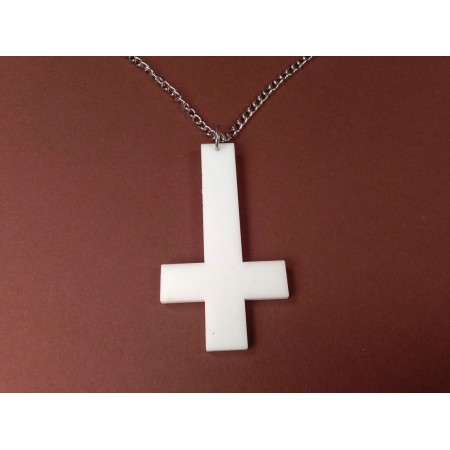 Inverted cross type 5 (white)