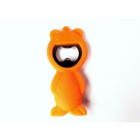 Bottle opener tiger (orange)