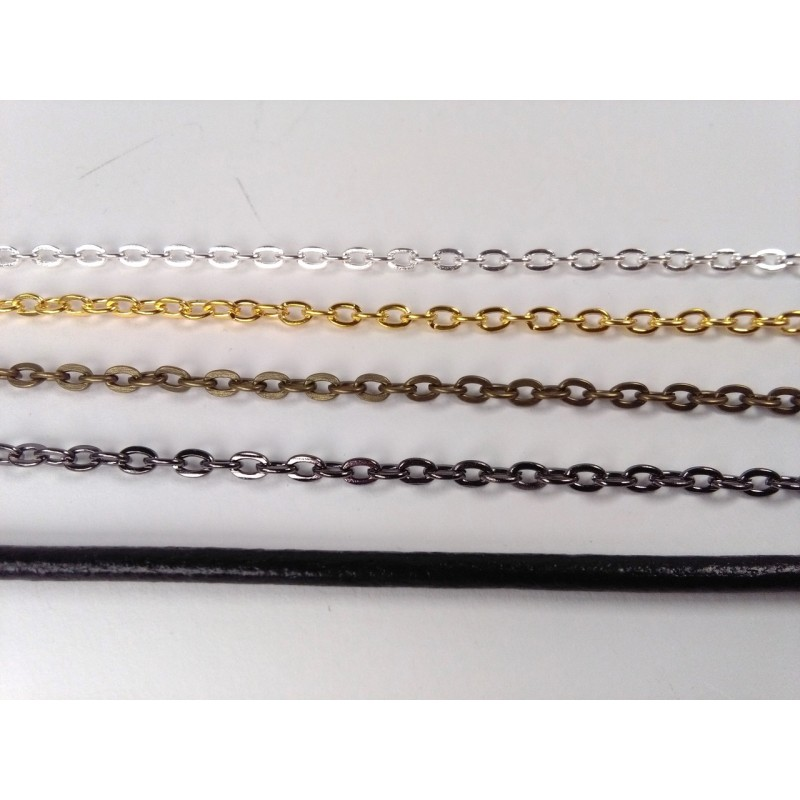 Separate chain or leather cord