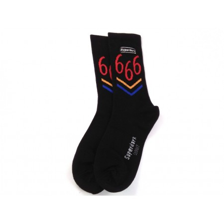 Six six socks (black)